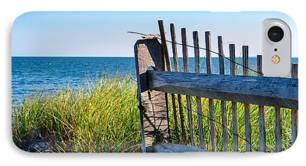 IPhone Case featuring the photograph Fence With A Great View by Mike Ste Marie