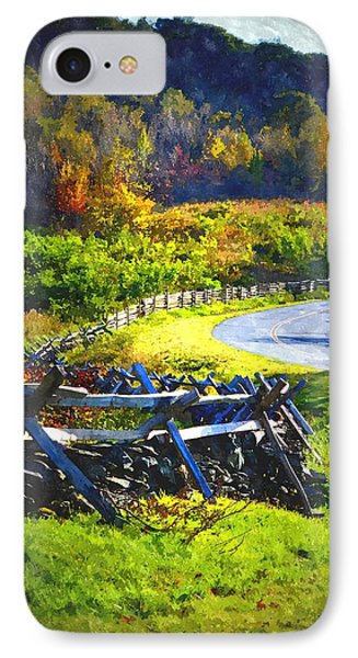 IPhone Case featuring the photograph Fenced In by Cathy Shiflett