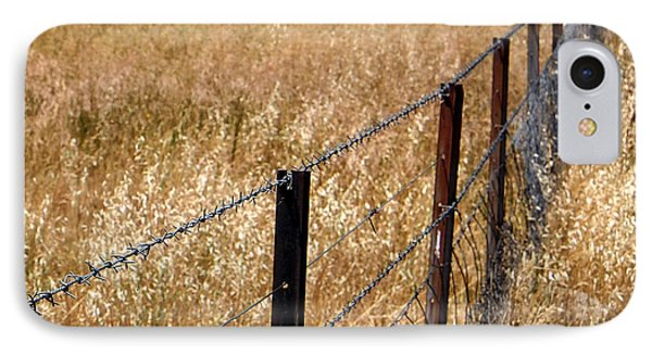 Fenced Off Phone Case by Kaleidoscopik Photography