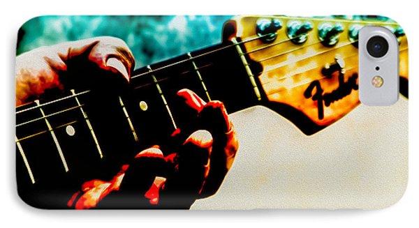Fender Strat IPhone Case by Bob Orsillo