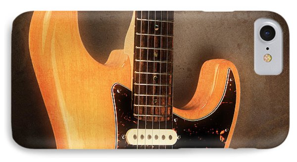 Fender Stratocaster Electric Guitar IPhone Case by John Cardamone