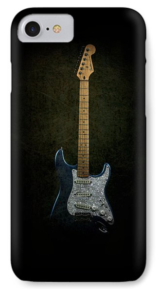 Fender Stratocaster Full Texture IPhone Case by John Cardamone