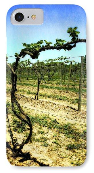 Fenn Valley Vineyards Phone Case by Michelle Calkins