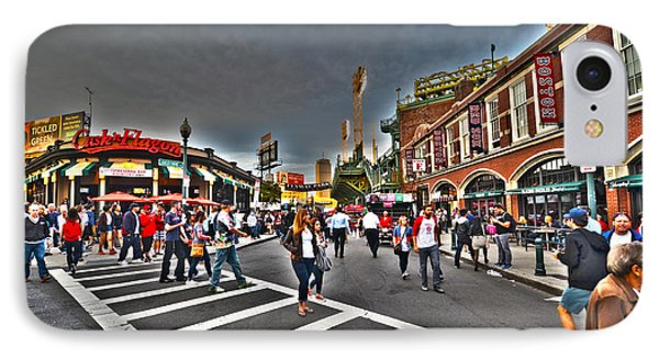 Fenway Park And Cask And Flagon IPhone Case by Toby McGuire