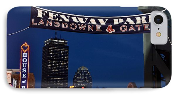 Fenway Park Banner IPhone Case by Toby McGuire