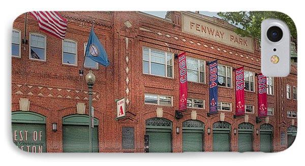 Fenway Park - Best Of Boston IPhone Case by Susan Candelario