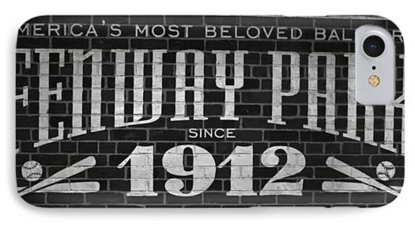 Fenway Park Boston Ma 1912 Sign IPhone Case by Toby McGuire