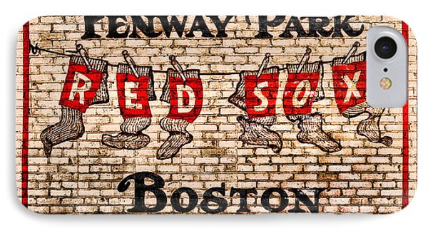 Fenway Park Boston Redsox Sign IPhone Case