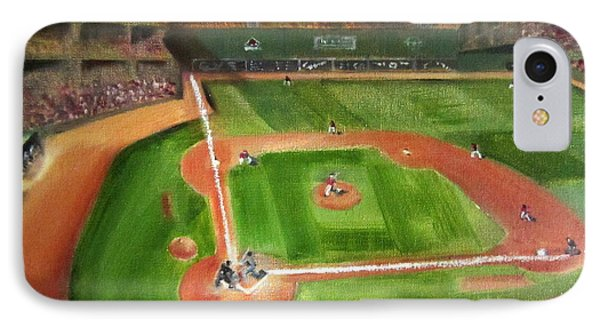 Fenway Park IPhone Case by Lindsay Frost