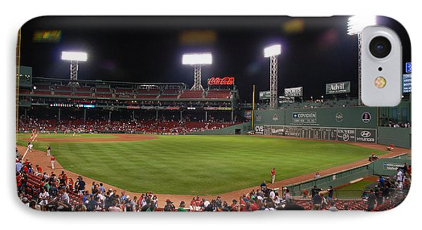 Fenway Park IPhone Case by Mark Wiley