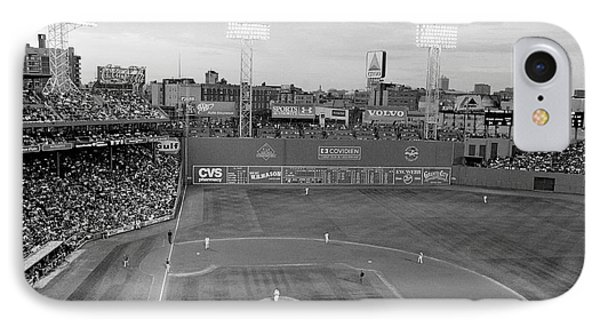 Fenway Park Photo - Black And White Phone Case by Horsch Gallery