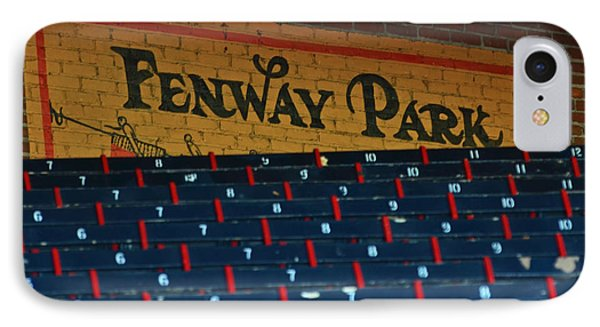 Fenway Park Sign And Seats IPhone Case by Toby McGuire