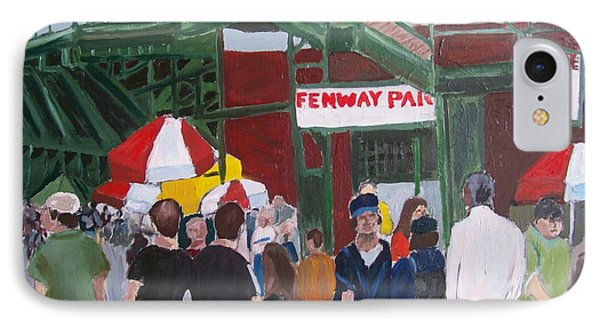 Fenway Park Spring Time IPhone Case by Carmela Cattuti