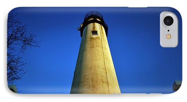 IPhone Case featuring the photograph Fenwick Island Lightouse And Blue Sky by Bill Swartwout