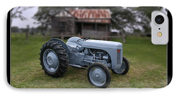 IPhone Case featuring the photograph Fergie Tractor by Keith Hawley