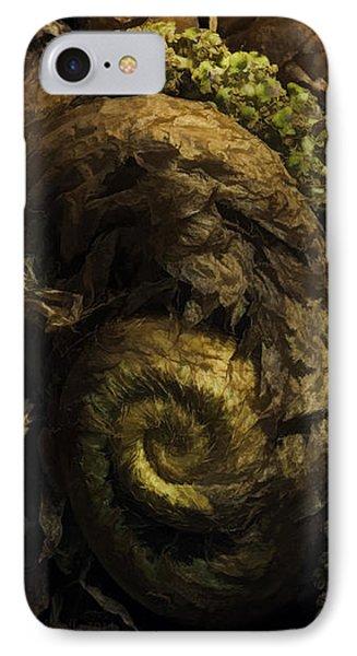 Fern Headdress IPhone Case by Jean OKeeffe Macro Abundance Art
