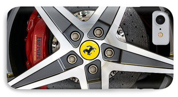 Ferrari Alloy IPhone Case