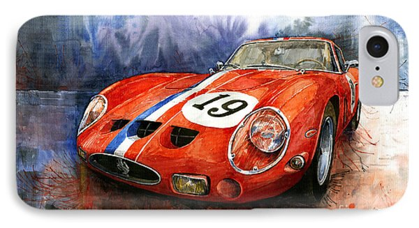 Ferrari 250 Gto 1963 IPhone Case by Yuriy  Shevchuk