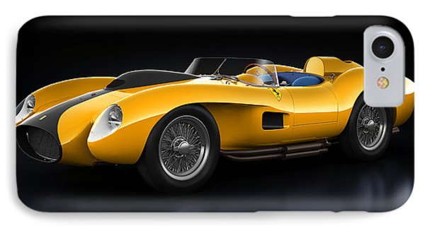 Ferrari 250 Testa Rossa - Bloom IPhone Case