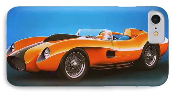 Ferrari 250 Testa Rossa - Vintage Racing IPhone Case