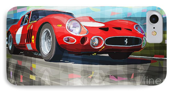 Ferrari 330 Gto 1962 IPhone Case by Yuriy Shevchuk