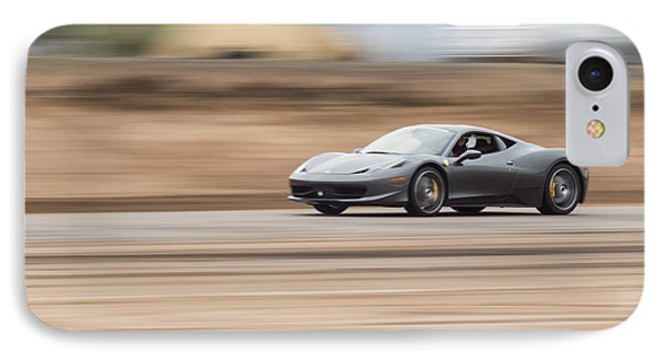 Ferrari 458 Italia Fine Art Print IPhone Case by Brad Scott
