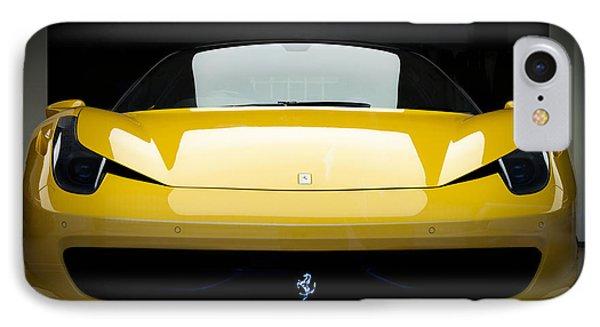 IPhone Case featuring the photograph Ferrari 458 by Matt Malloy