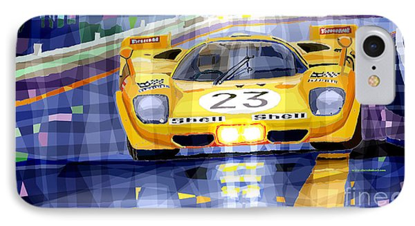 Ferrari 512 S Spa 1970 Derek Bell  IPhone Case