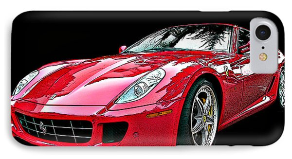 Ferrari 599 Gtb Fiorano IPhone Case by Samuel Sheats