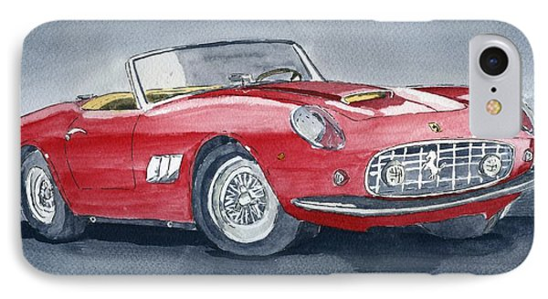 Ferrari 62   250 Gt IPhone Case by Eva Ason