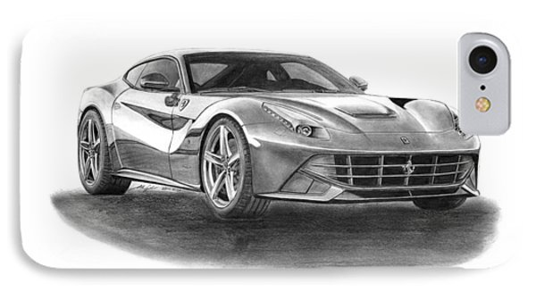 Ferrari F12 Berlinetta Phone Case by Gabor Vida