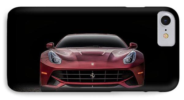 Ferrari F12 IPhone Case by Douglas Pittman
