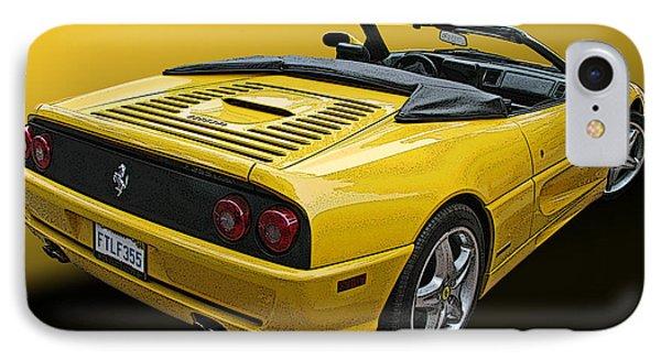 Ferrari F355 Spider IPhone Case