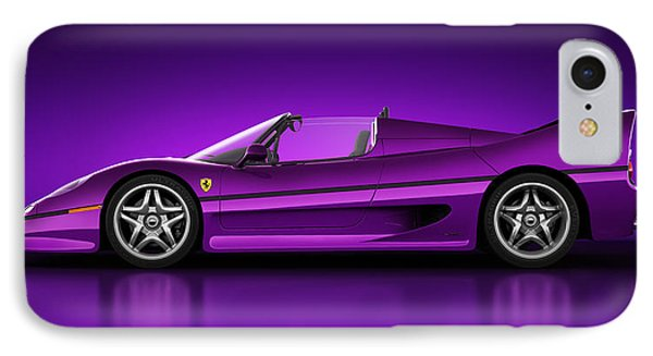 Ferrari F50 - Neon IPhone Case