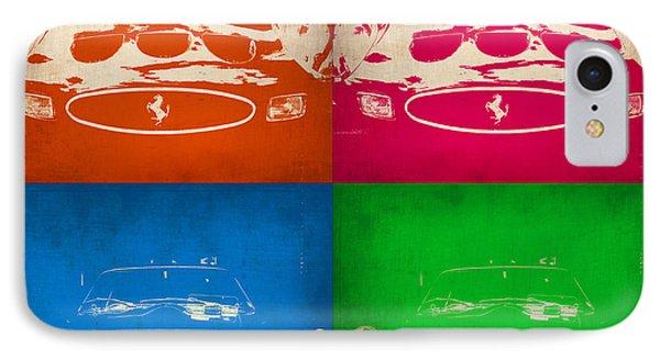 Ferrari Front Pop Art 4 IPhone Case