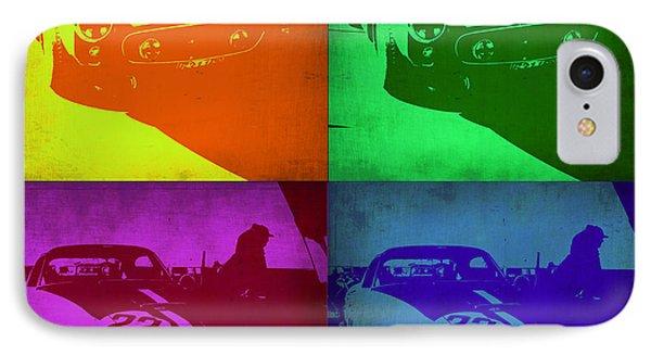Ferrari Gto Pop Art 1 IPhone Case by Naxart Studio