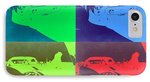 Ferrari Gto Pop Art 2 IPhone Case by Naxart Studio
