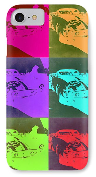 Ferrari Gto Pop Art 3 IPhone Case by Naxart Studio