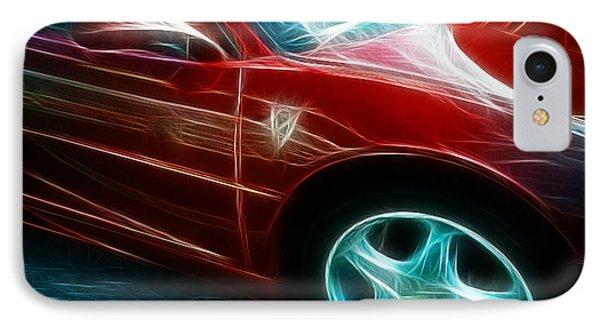 Ferrari In Red Phone Case by Paul Ward