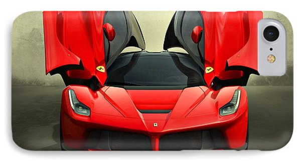 Ferrari Laferrari F 150 Supercar IPhone Case by Movie Poster Prints