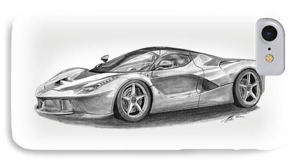 Ferrari Laferrari Phone Case by Gabor Vida