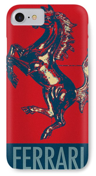Ferrari Stallion In Hope IPhone Case