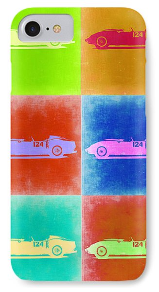 Ferrari Testarossa Pop Art 2 IPhone Case by Naxart Studio