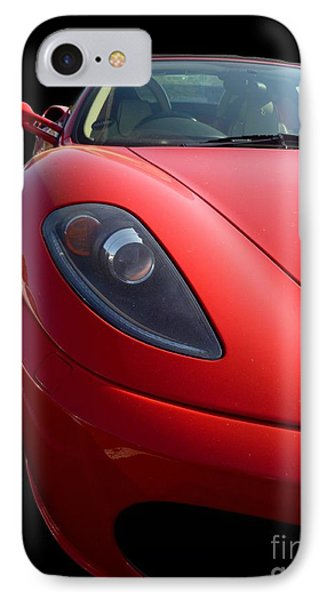 IPhone Case featuring the photograph Ferrari by Vicki Spindler