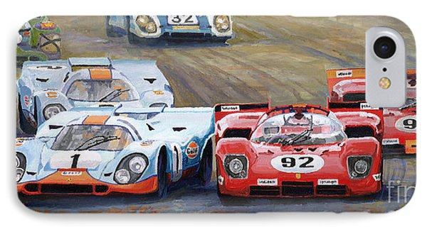 Ferrari Vs Porsche 1970 Watkins Glen 6 Hours IPhone Case