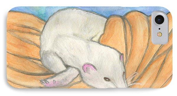 Ferret's Favorite Blanket IPhone Case by Roz Abellera Art