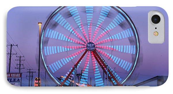 Ferris At Dusk IPhone Case by Shawn MacMeekin