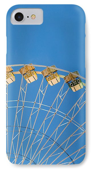 Ferris Wheel 2 Phone Case by Rebecca Cozart