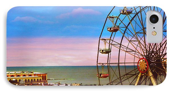 Ocean City New Jersey Ferris Wheel And Music Pier IPhone Case