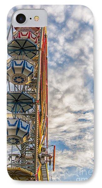 Ferris Wheel IPhone Case by Antony McAulay
